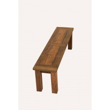 1.6m Reclaimed Teak Backless Mexico Dining Bench